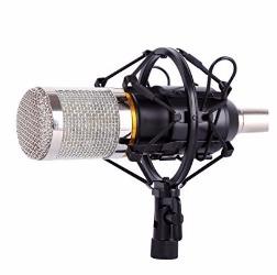 Micrófono de Condensador CAHAYA Micrófono de grabación para radio broadcasting