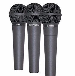 Pack de 3 – Behringer ultravoice xm8500 Handheld